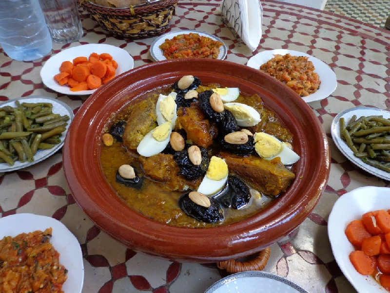 Restaurant dakar in erfoud tajine meals erfoud couscous for About moroccan cuisine