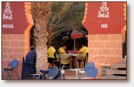 Cafe-Restaurant-Pizzeria Dakar,Erfoud . Website Design and Photography by Gomarnad Maroc